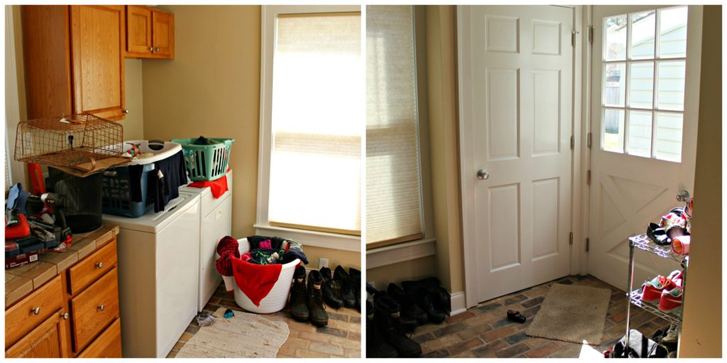 Mud Room Collage